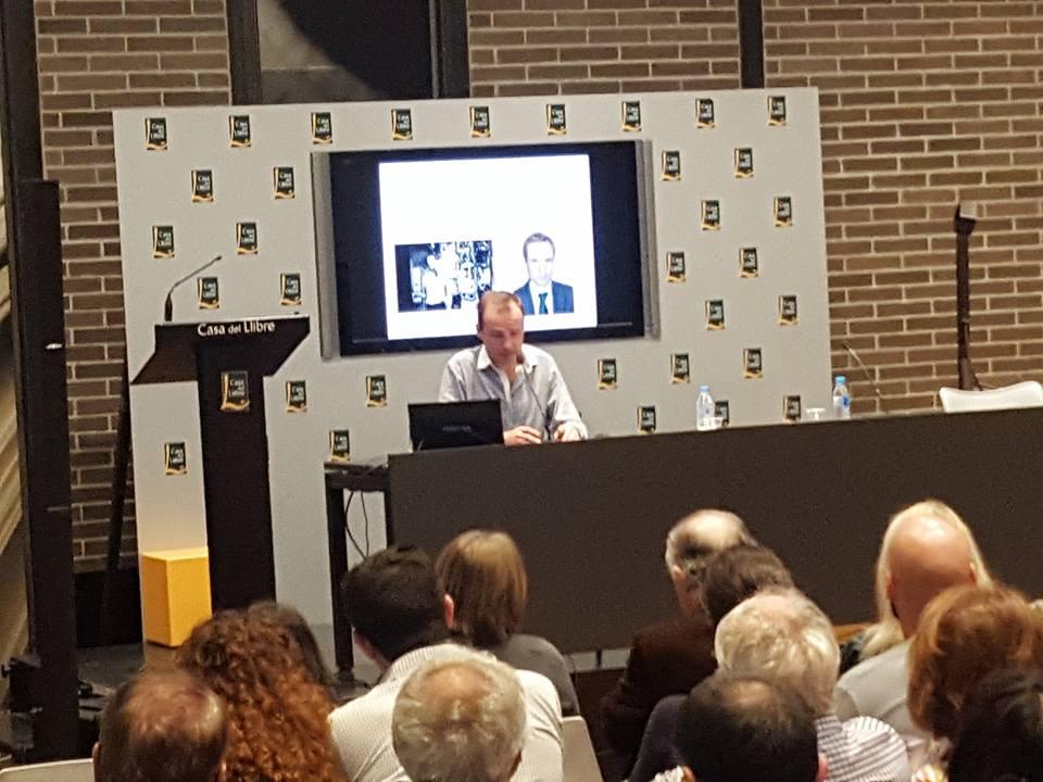 Charla de Jordi Pujola en la Casa del Libro Barcelona