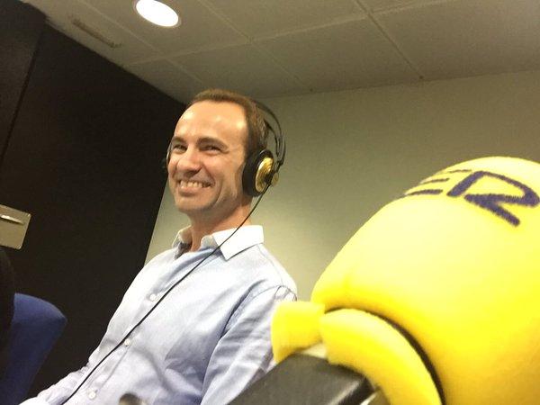 Jordi Pujolà, escritor español y catalán en la Cadena Ser Radio