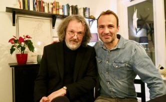 Arni Thorarinsson interview English with Jordi Pujolà Spanish writer in Iceland