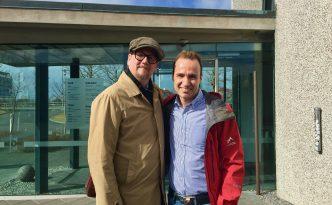 Interview writer Sjon and writer Jordi Pujola Iceland National Museum