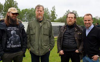 Interview HAM Iceland band in Secret Solstice with writer Jordi Pujola
