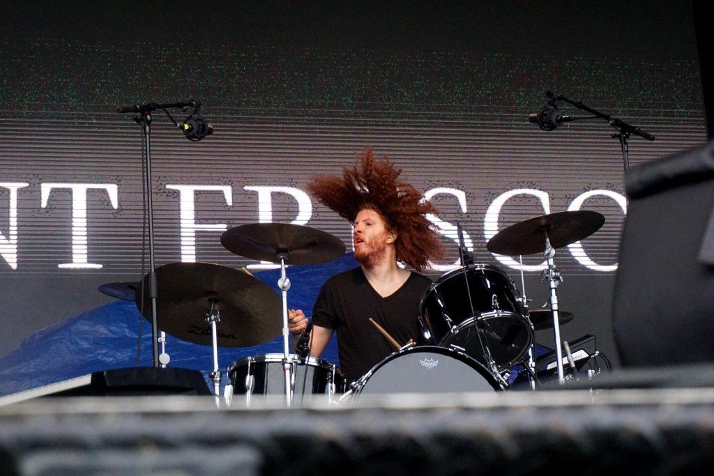 Interview Agent Fresco drums Hrafnkell Guðjónsson