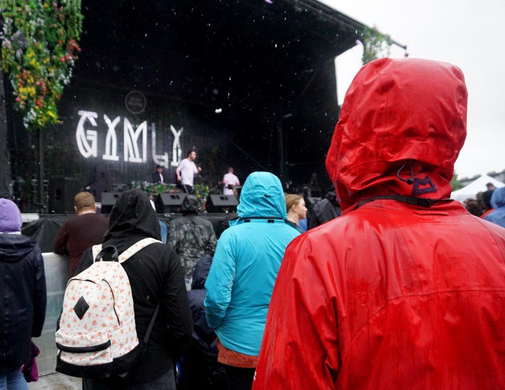 Ulfur Ulfur Rap Iceland lluvia en Gimly Secret Solstice