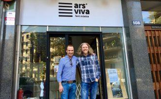 Interview Halldor Mar musician in Ars Viva school