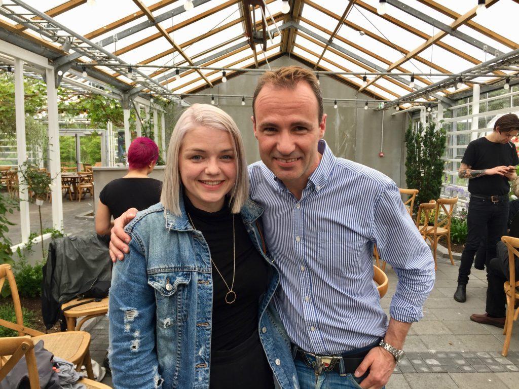Vicky Icelandic Band singer Eygló Scheving Secret Solstice
