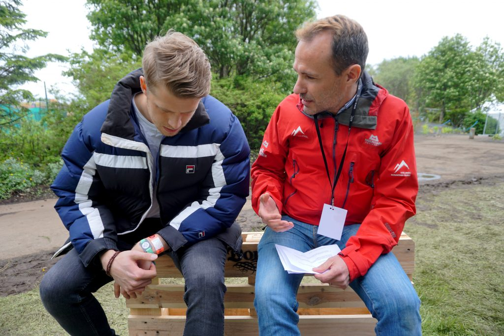 Birgir Stefansson Interview ivenue SecretSolstice 18 Jordi Pujola