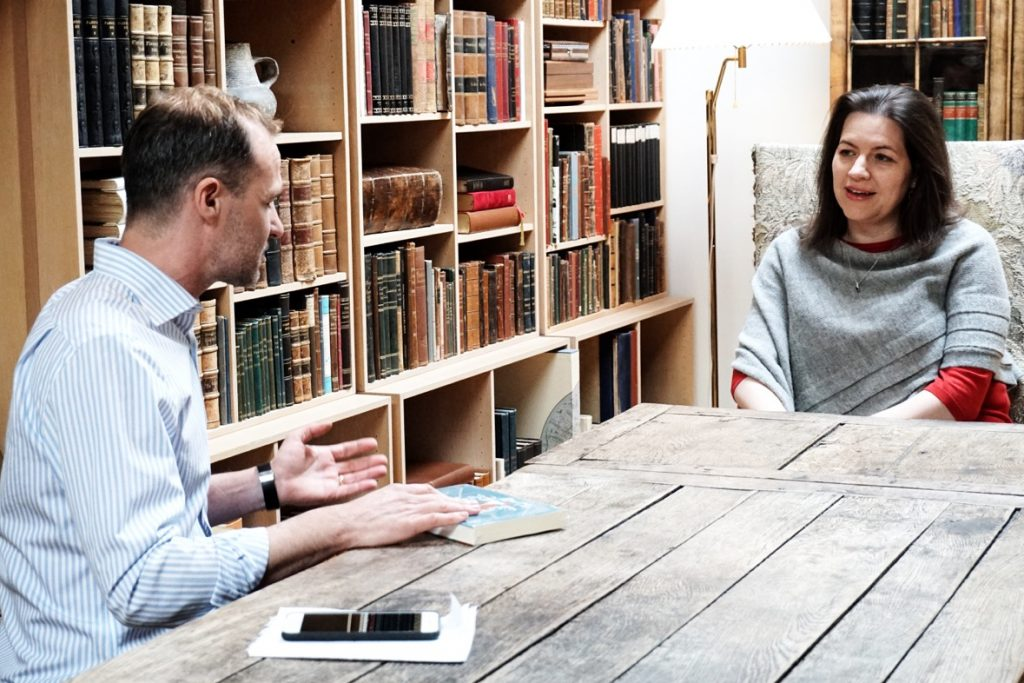 Eliza Reid interviewed by Jordi Pujola