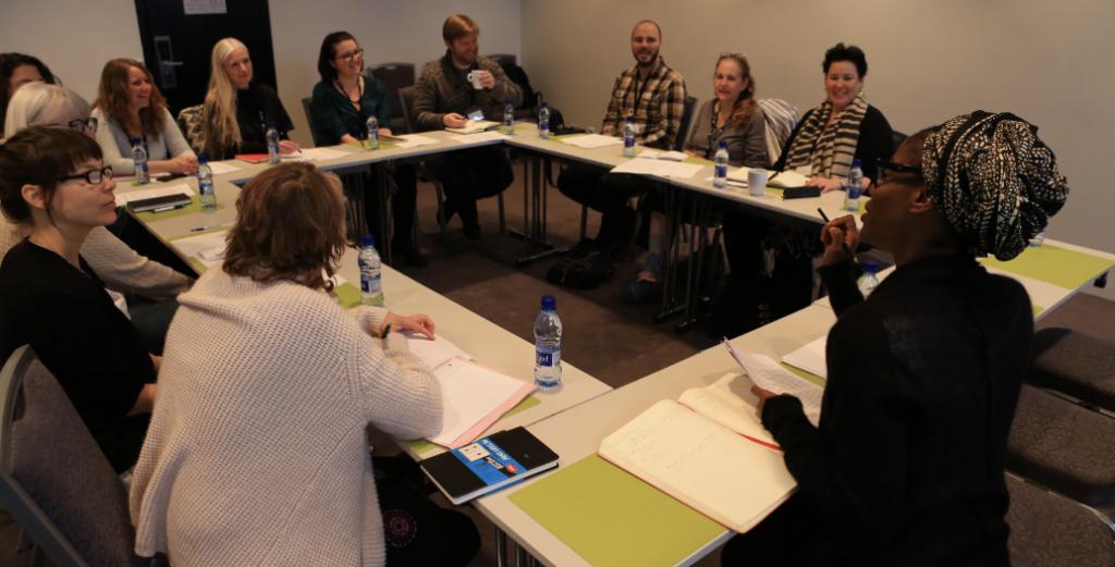 Class for writers IWR Reykjavik
