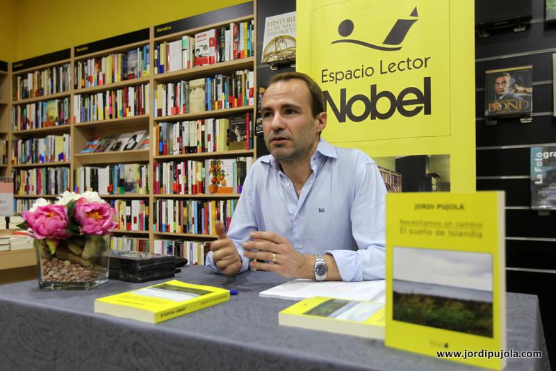 La Voz de Galicia cubrió el evento de Jordi Pujolà.