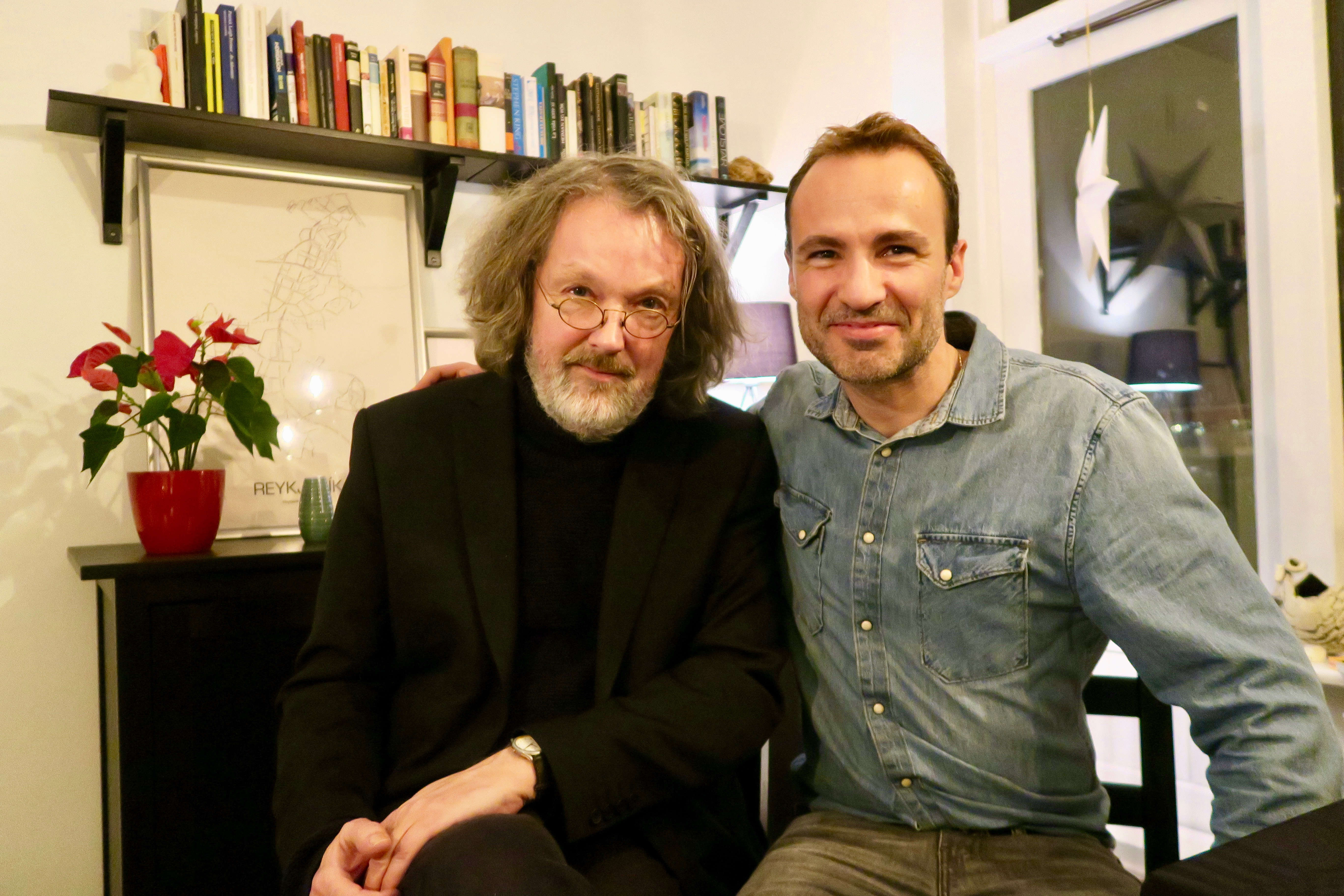 Arni Thorarinsson interview English with Jordi Pujolà Spanish writer in Iceland
