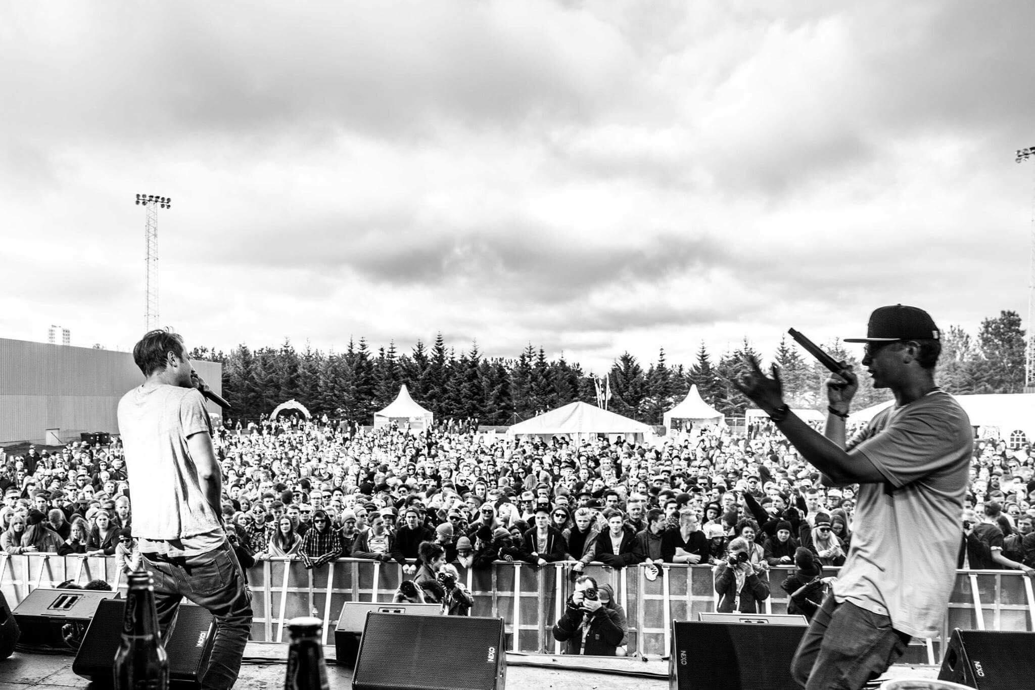 Interview rapper Blaz Roca Secret Solstice Iceland rap