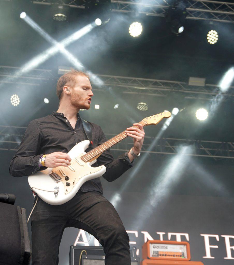 Interview Agent Fresco guitar Þórarinn Guðnason
