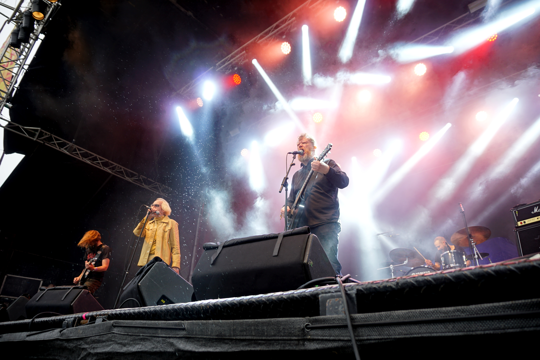 Interview Ham Iceland performing stage Secret Solstice