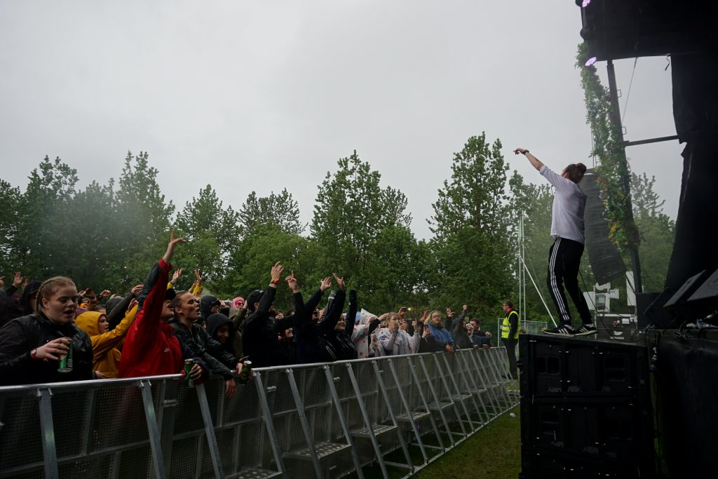 Ulfur Ulfur Iceland rap Arnar in action