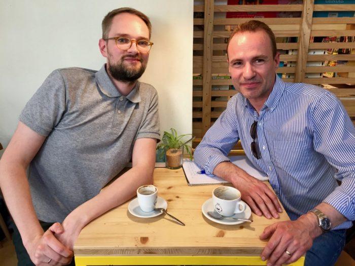 Ottar Norfjord Interview Icelandic author in Barcelona
