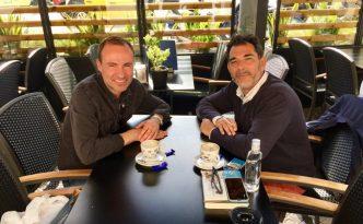 Victor del Arbol interview with Jordi Pujolá Spanish writer