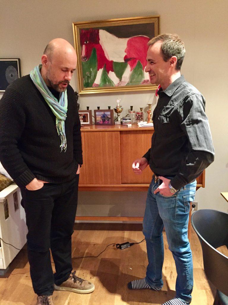 InBenedikt Erlingsson director and Jordi Pujola writer