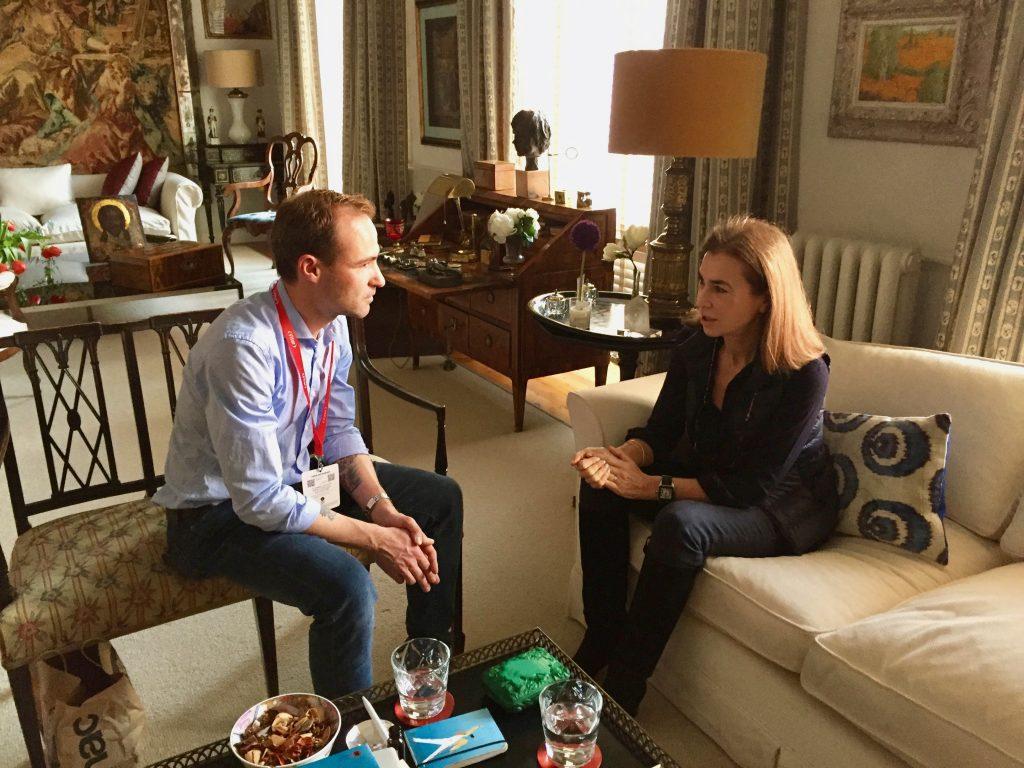Interview Carmen Posadas by Jordi Pujolá
